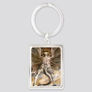 The Great Red Dragon Portrait Keychain