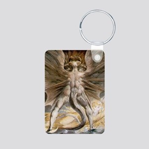 The Great Red Dragon Aluminum Photo Keychain