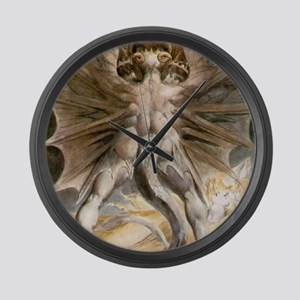 The Great Red Dragon Large Wall Clock