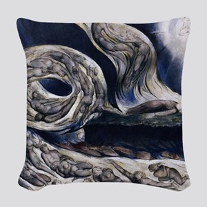 Whirlwind of Lovers Woven Throw Pillow