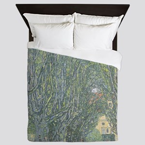 Avenue of Trees Queen Duvet