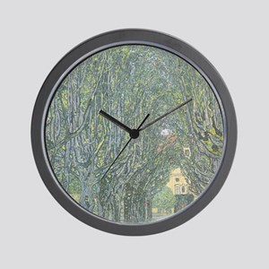 Avenue of Trees Wall Clock