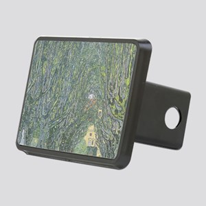 Avenue of Trees Rectangular Hitch Cover