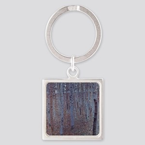Beeches Square Keychain
