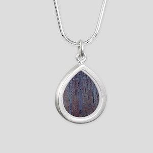 Beeches Silver Teardrop Necklace