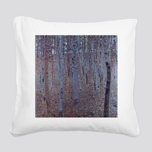 Beeches Square Canvas Pillow