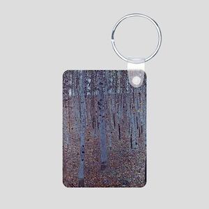Beeches Aluminum Photo Keychain