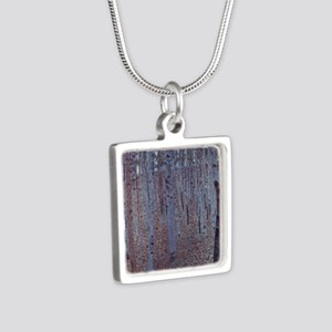Beeches Silver Square Necklace