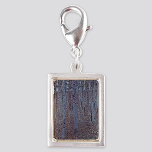 Beeches Silver Portrait Charm