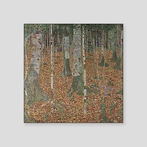 """Birch Forest Square Sticker 3"""" x 3"""""""
