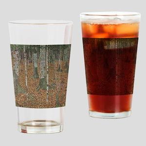 Birch Forest Drinking Glass