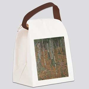 Birch Forest Canvas Lunch Bag