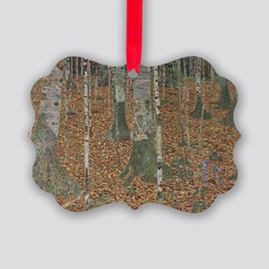 Birch Forest Picture Ornament