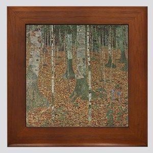 Birch Forest Framed Tile