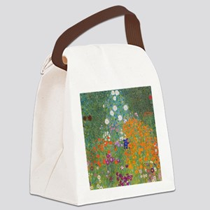 Flower Garden Canvas Lunch Bag