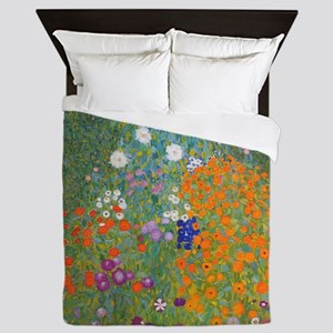 Flower Garden Queen Duvet