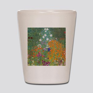 Flower Garden Shot Glass