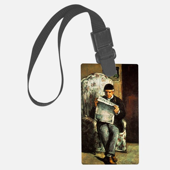 Artists Father Luggage Tag