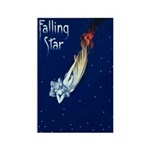 Falling Star Rectangle Magnet (100 pack)