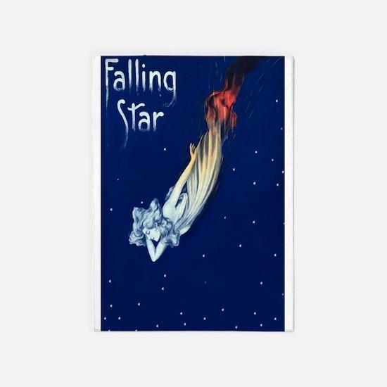 Falling Star 5'X7'area Rug