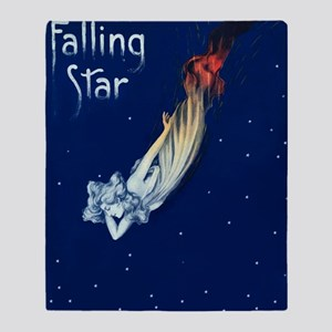 Falling Star Throw Blanket