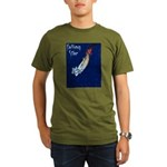 Falling Star Organic Men's T-Shirt (dark)