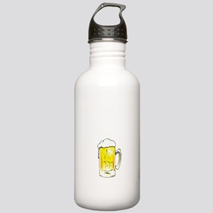 Beer Thirty - Black Stainless Water Bottle 1.0L
