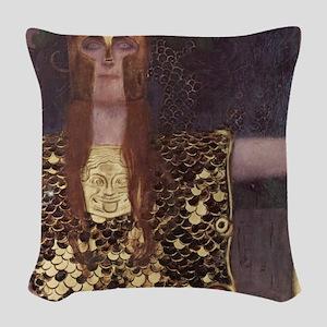 Pallas Athena Woven Throw Pillow