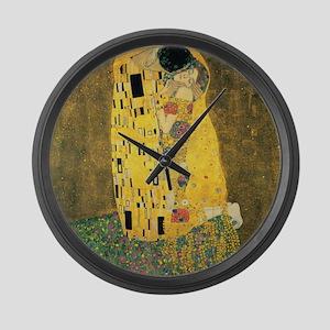 The Kiss Large Wall Clock