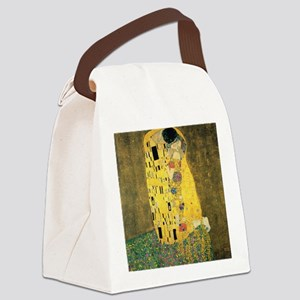 The Kiss Canvas Lunch Bag