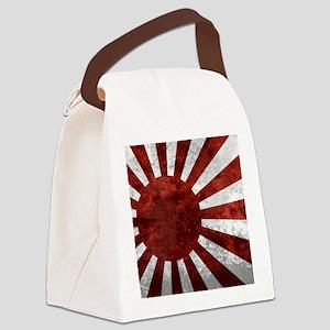 Japanese Rising Sun Mousepad Canvas Lunch Bag