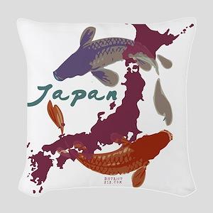 japanrelief2011_4 Woven Throw Pillow