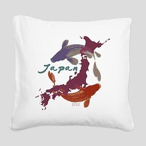 japanrelief2011_4 Square Canvas Pillow