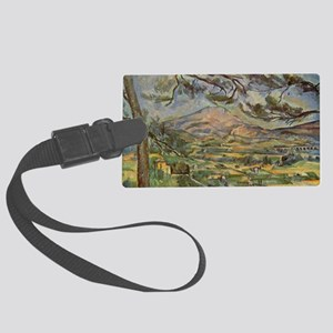 Mont Sainte-Victoire Large Luggage Tag
