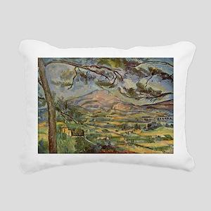 Mont Sainte-Victoire Rectangular Canvas Pillow