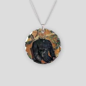 Madame Cezanne Necklace Circle Charm