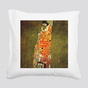 The Hope Square Canvas Pillow