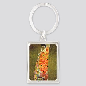 The Hope Portrait Keychain