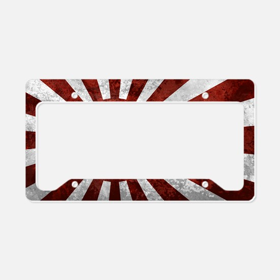 Japanese Wall Peel Sticker La License Plate Holder