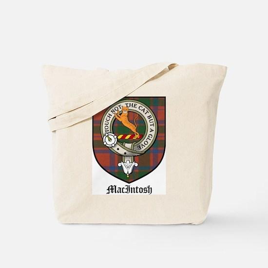 MacIntosh Clan Crest Tartan Tote Bag