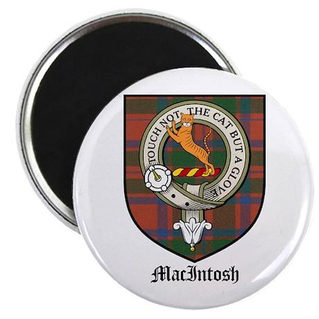 "MacIntosh Clan Crest Tartan 2.25"" Magnet (10 pack)"
