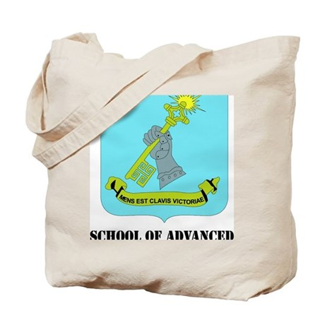 DUI-SCHOOL OF ADVANCED MILITARY STUDIES Tote Bag