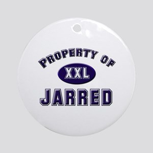 Property of jarred Ornament (Round)