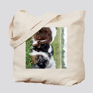 3dogs 459_ipad_case Tote Bag
