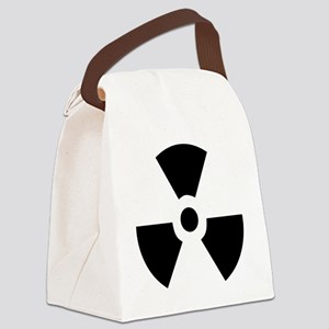 Radioactive Canvas Lunch Bag