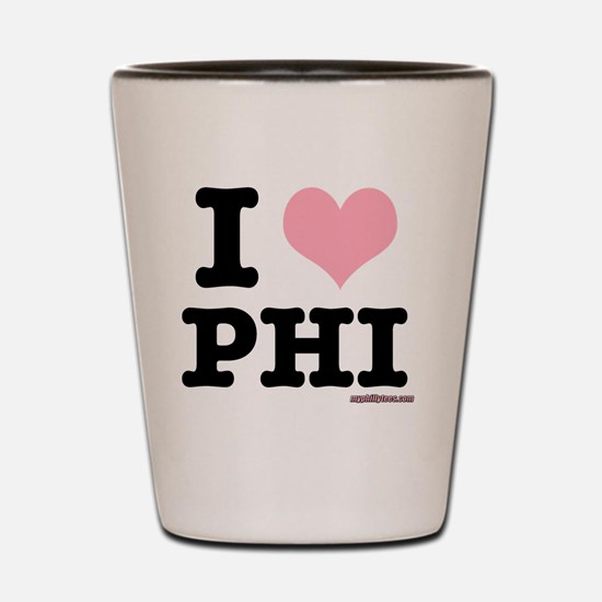 iheartphiblack Shot Glass