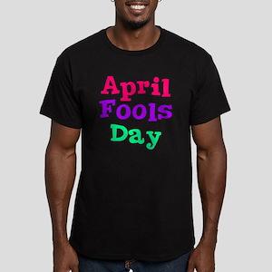 april fools day bo Men's Fitted T-Shirt (dark)