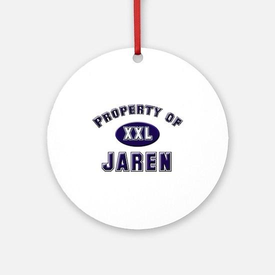Property of jaren Ornament (Round)