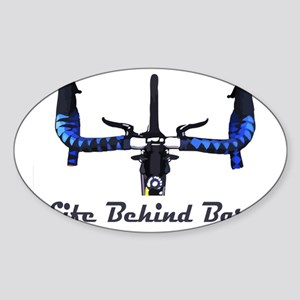 Life_Behind_Bars_2_drk Sticker (Oval)