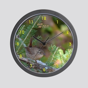 Wren Wall Clock